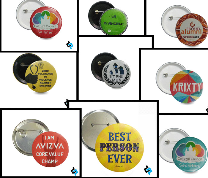 Button Badges Printing in Delhi