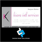 Visiting Cards Design & Printing